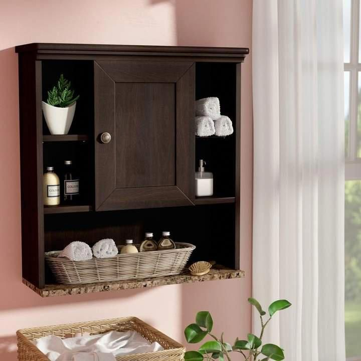 Andover Mills Millersburg 23 31 W X 24 57 H Wall Mounted Cabinet Bathroomstorage Wall Storage Cabinets Wall Mounted Cabinet Bathroom Wall Storage