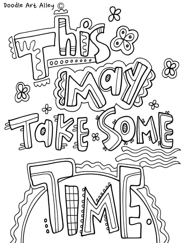 Growth Mindset Coloring Pages from Classroom Doodles | Character ...