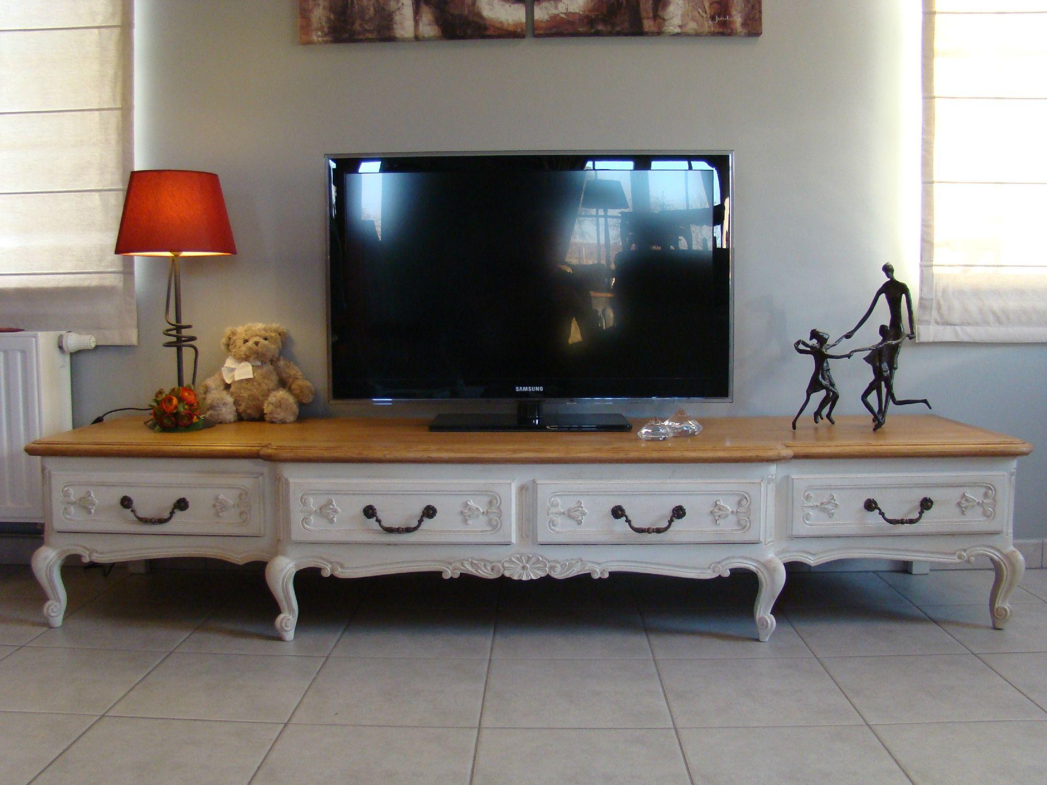 Http P3 Storage Canalblog Com 36 28 1098373 85868219_o Jpg  # Meuble Tv Patine