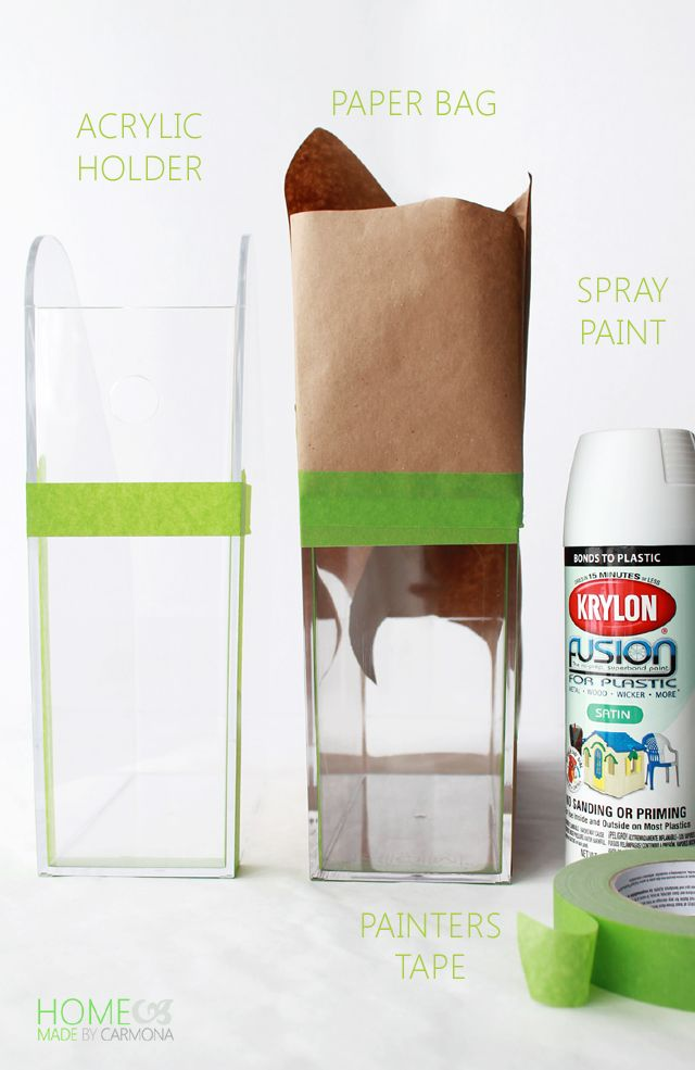 The secret to painting acrylic plastic glass spray for Can i paint glass with acrylic paint