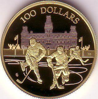 Canada S Million Dollar Gold Coin 100 2006 Longest International Hockey
