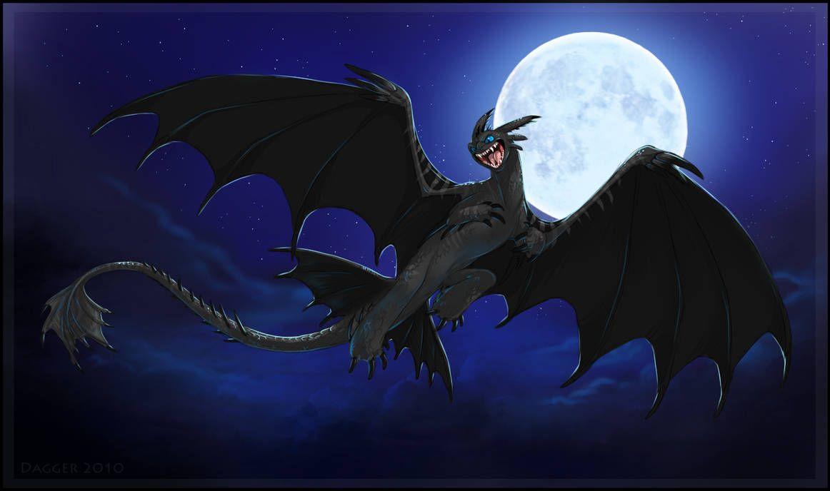 Картинки про ночных драконов