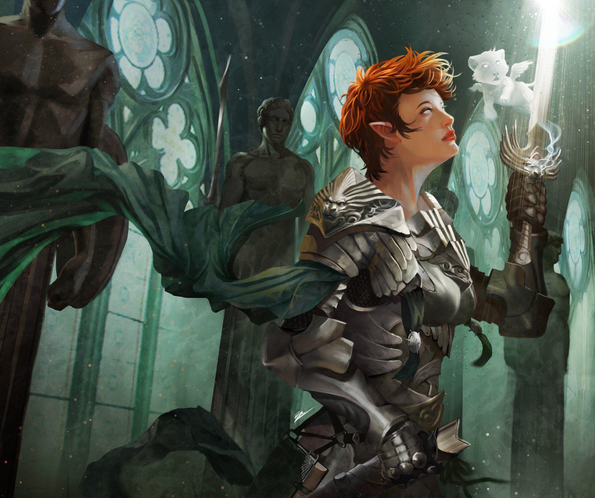 fantasy kobieta wojownik woman