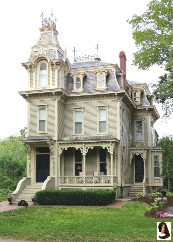 Italienisches viktorianisches Haus Alte viktorianische