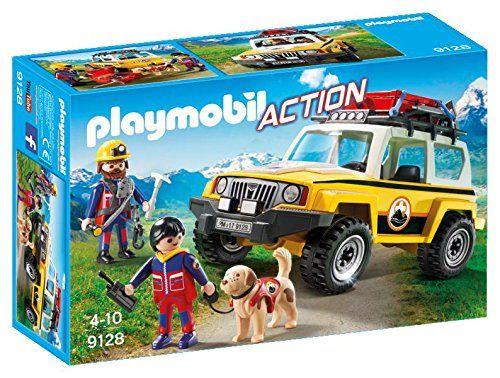 Playmobil 9128 Mountain Rescue Emergency Vehicle Playmobil Https Www Amazon Com Dp B01lx4s4dg Ref Cm Sw R Pi Dp X Az With Images Playmobil Emergency Vehicles Toy Trucks