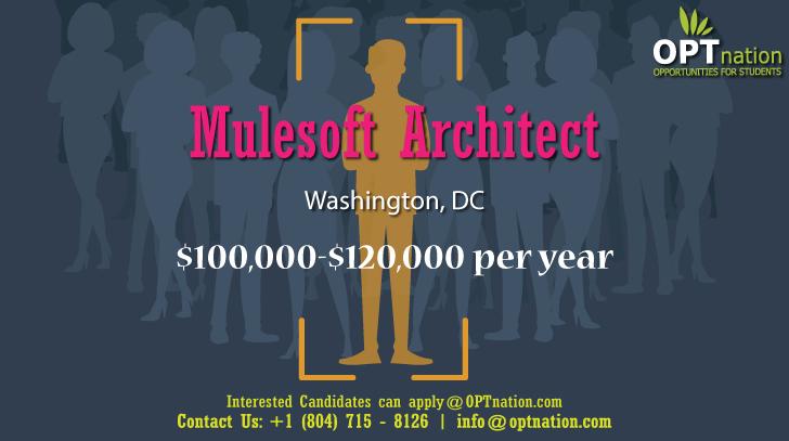 We Re Hiring Mulesoft Architect In Washington Dc Architect Jobs Job Posting Job