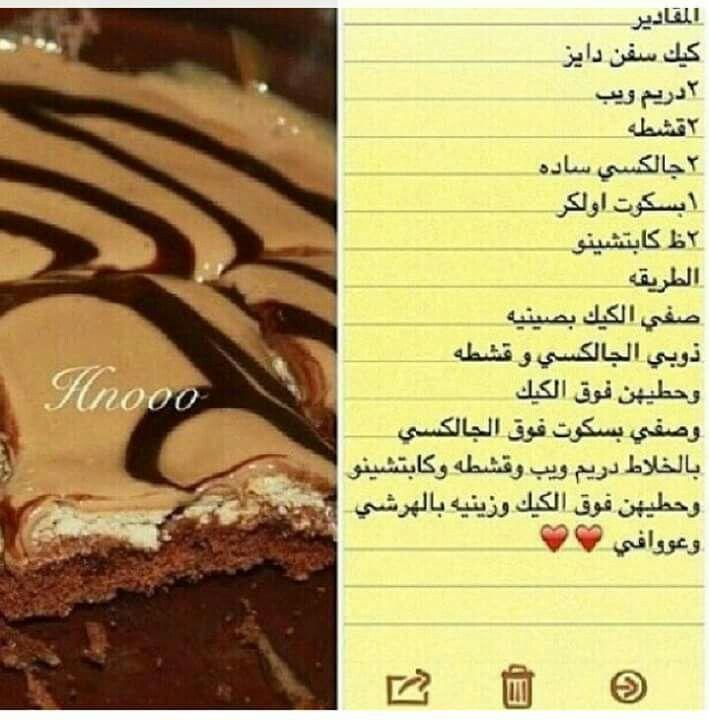 حلويات حلا حلى حلويات رمضانية كيك Desserts Molten Chocolate Cake Recipe Organization