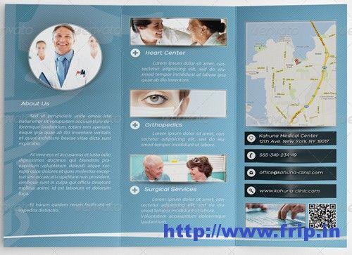 Best Medical Brochure Design Print Templates Medical - Medical brochure templates