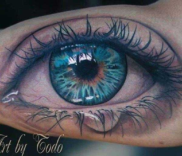 Das Kann Ins Auge Gehen Tattoo Tattoo Auge Tätowierungen Und