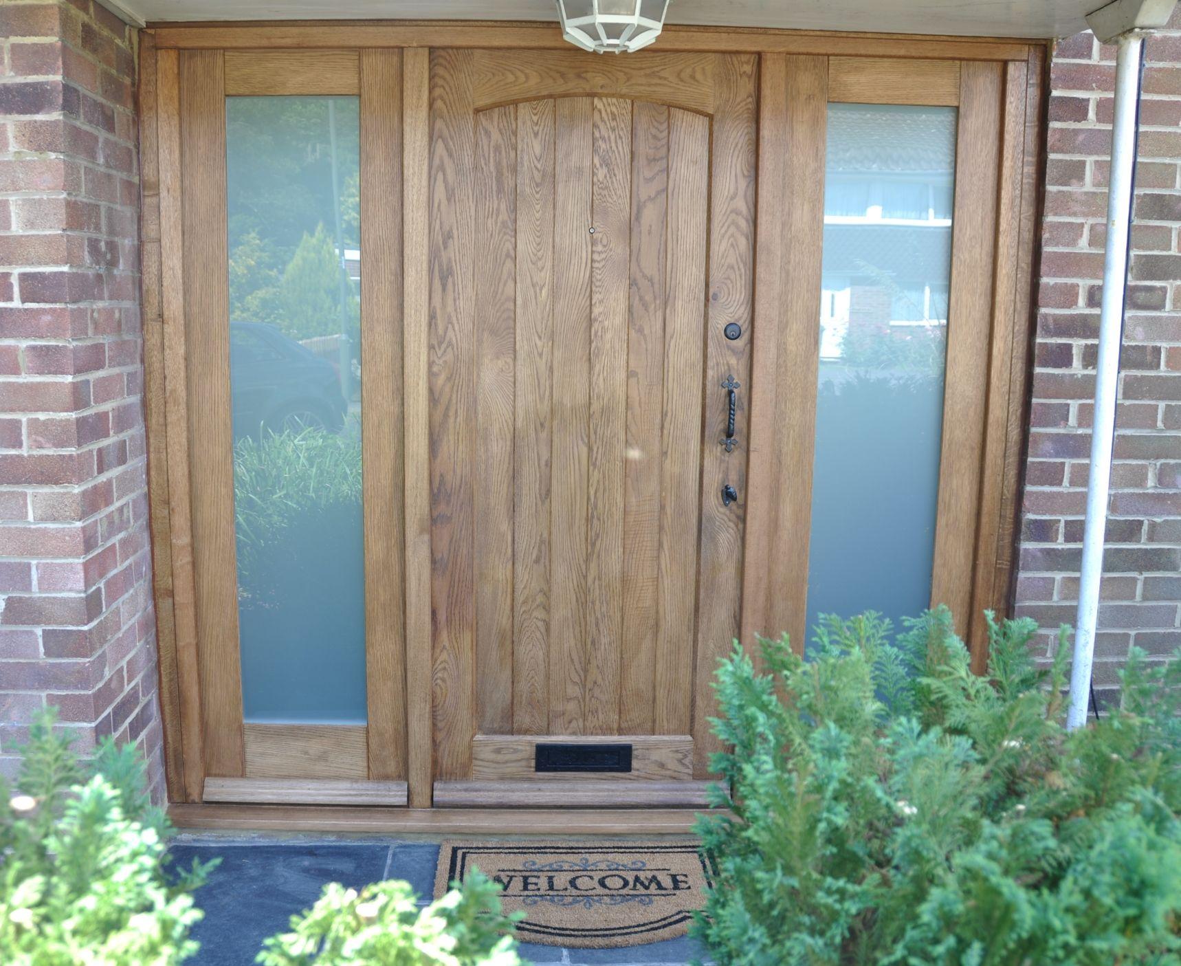 Cottage Front Door. External Oak Door. Wooden Traditional ...