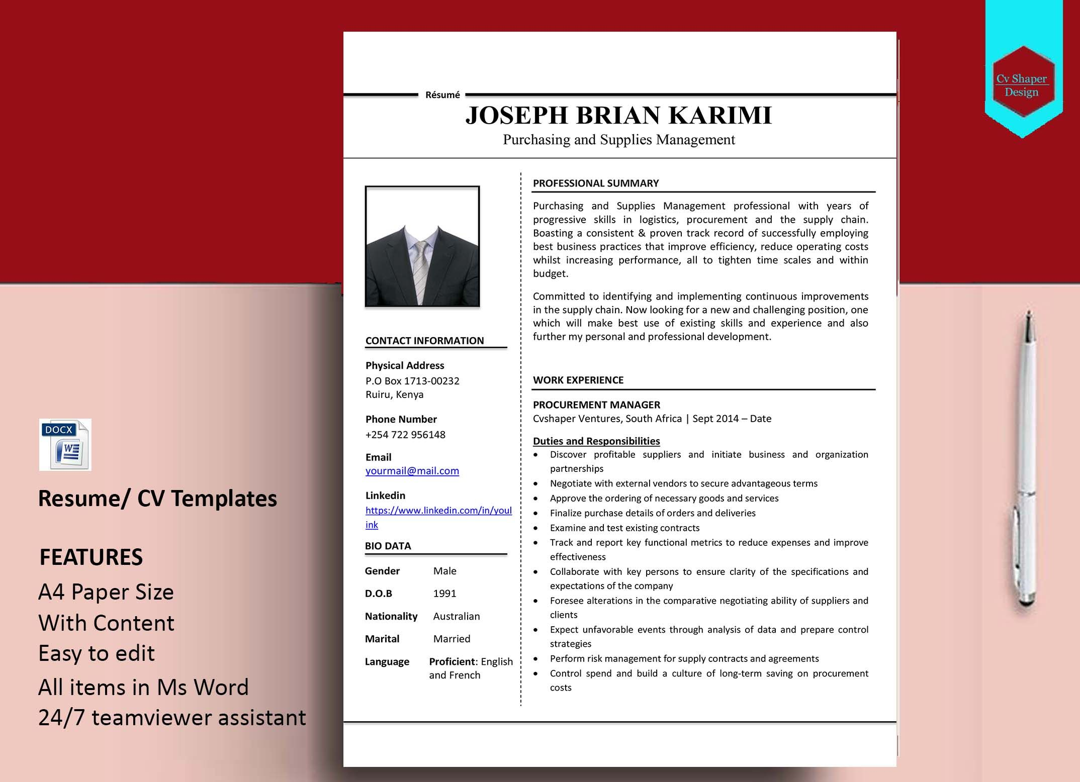 Free online resume maker, make a resume in 5 minutes http