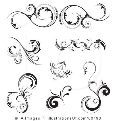filigree clip art floral scroll clipart 60493 by ta images rh pinterest com filigree clip art border free filigree clip art designs