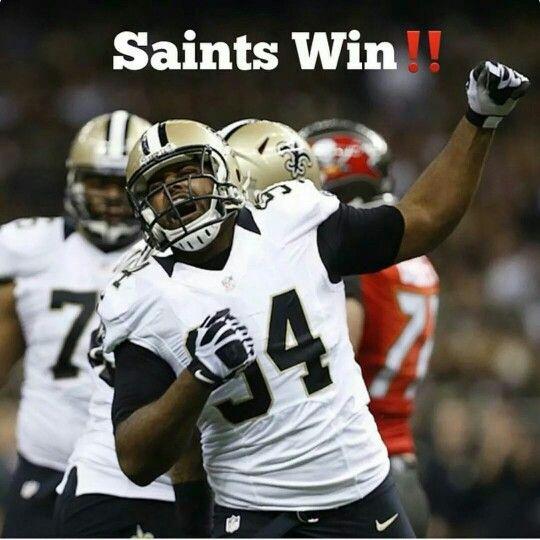Saints Beat Buccaneers 37 31 In Overtime New Orleans Saints Saints Football Saints