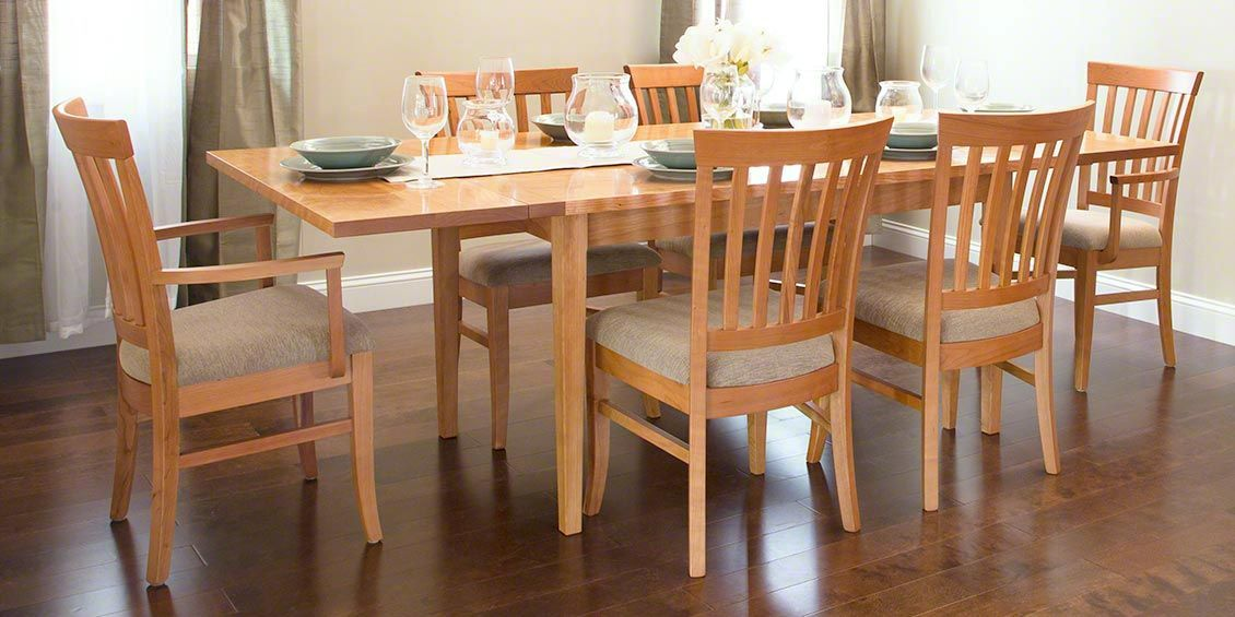 Vermont Shaker Harvest Dining Table  Create A Warm And Welcoming Captivating Quality Dining Room Tables Design Ideas