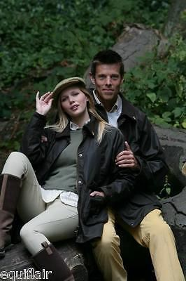 Jackets 72597: John Partridge Cob Unisex Wax Country Jacket - Brown BUY IT NOW ONLY: $90.0