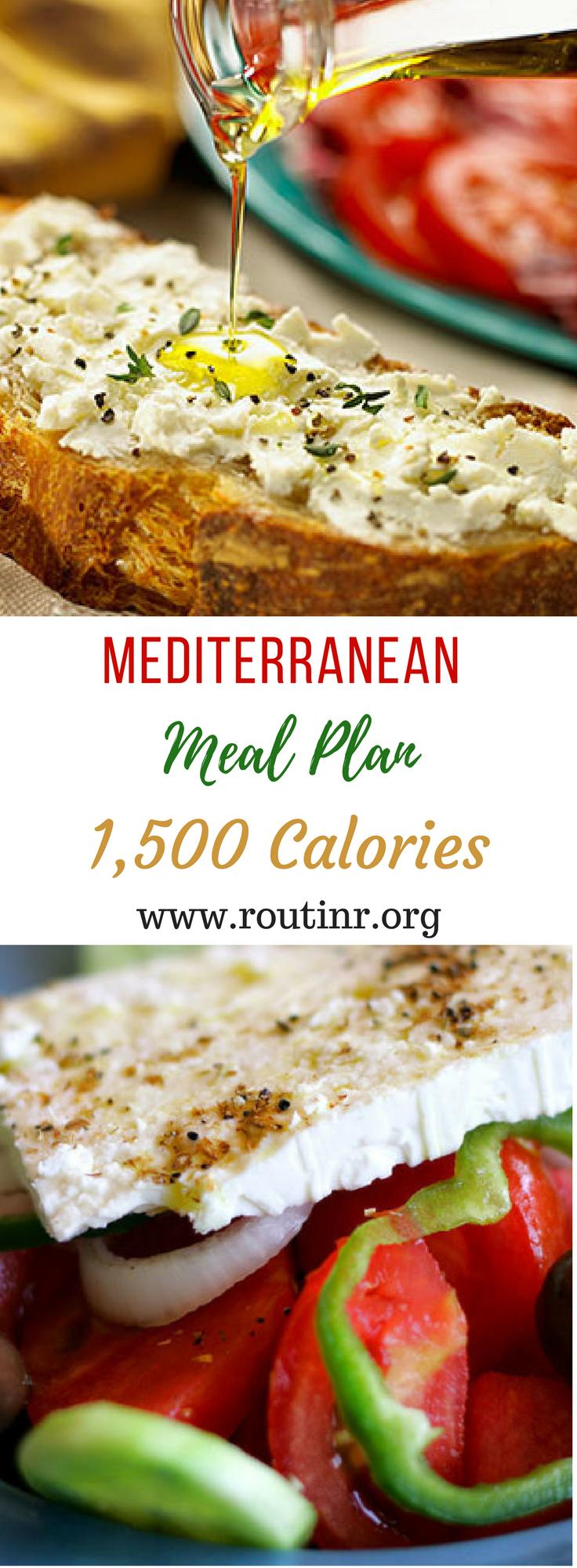 5+ Healthy Benefits of Following a Mediterranean Diet Plan Ideas