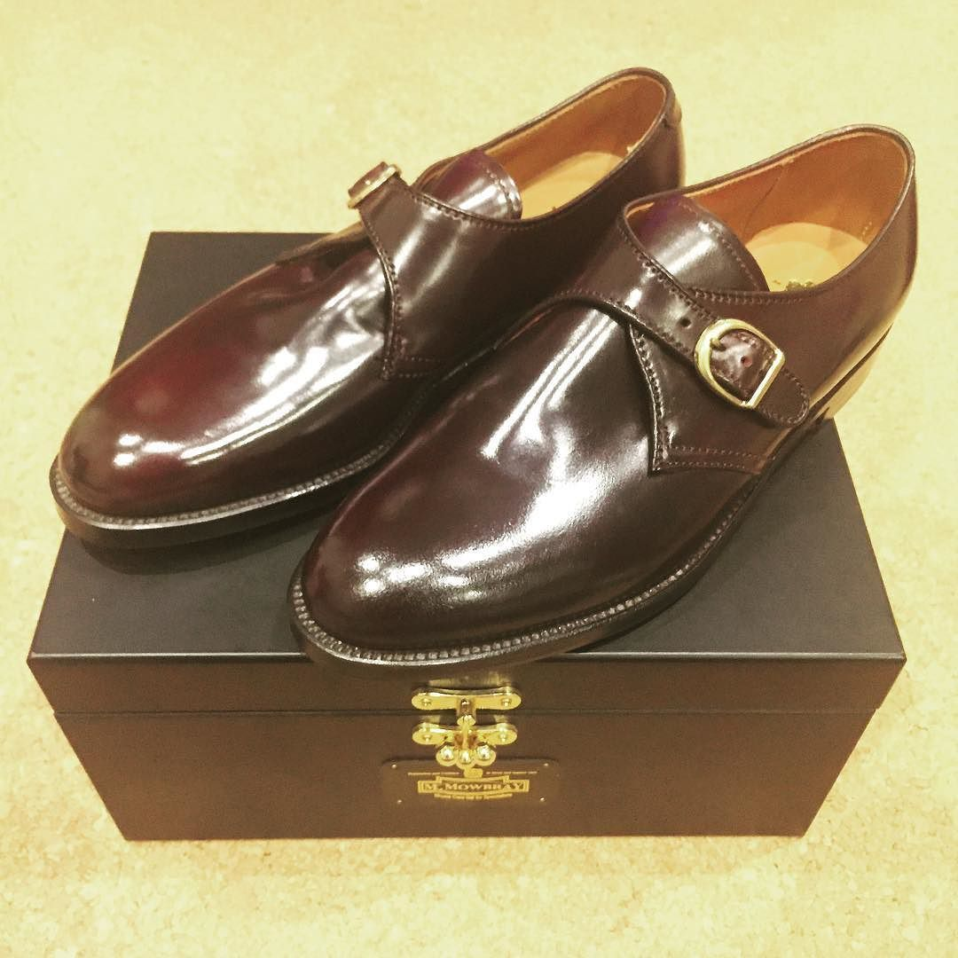 140967dbc41 NY出張での購入品です Alden 954 color 8 single monk strap 履きおろし ...