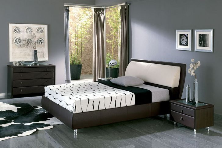 feature wall paint colour bed suite bedroom paint colorsgrey - Gray Color Schemes For Bedrooms