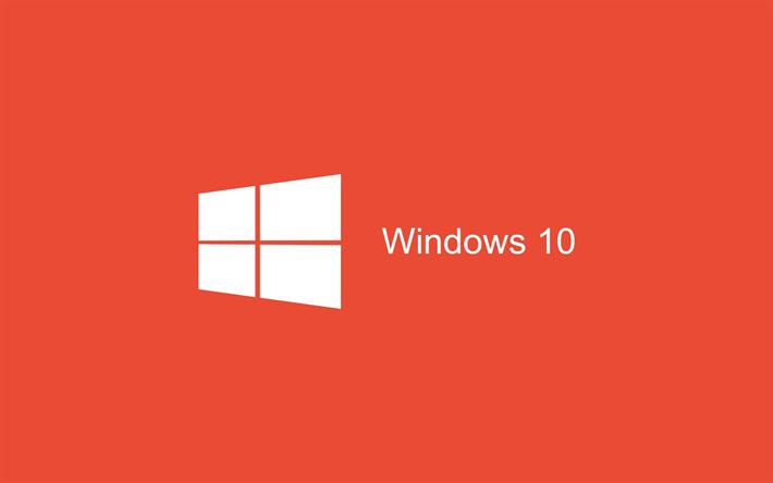 Download Wallpapers Windows 10 Minimal Art Red Background Logo Windows 10 Logo Microsoft Besthqwallpapers Com Wallpaper Windows 10 Windows 10 Windows Wallpaper