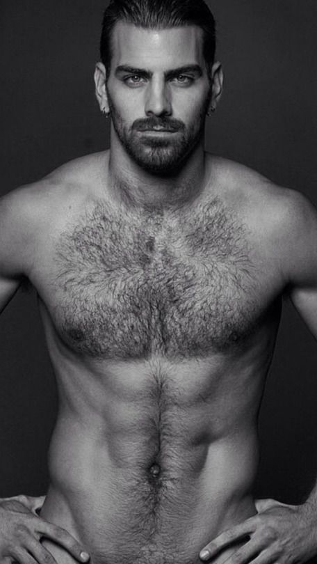 Hairy man chest pic
