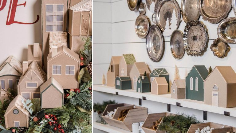 Make Your Own Christmas Village | Magnolia #magnoliachristmasdecor