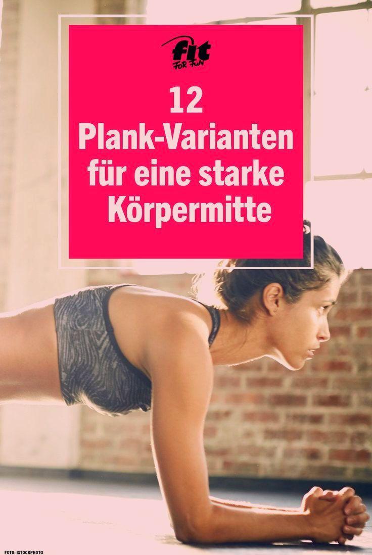 Die Plank ist eine Übung, die es in sich hat! Mit der Plank trainierst du Bauch, Beine, den Core, Rü...
