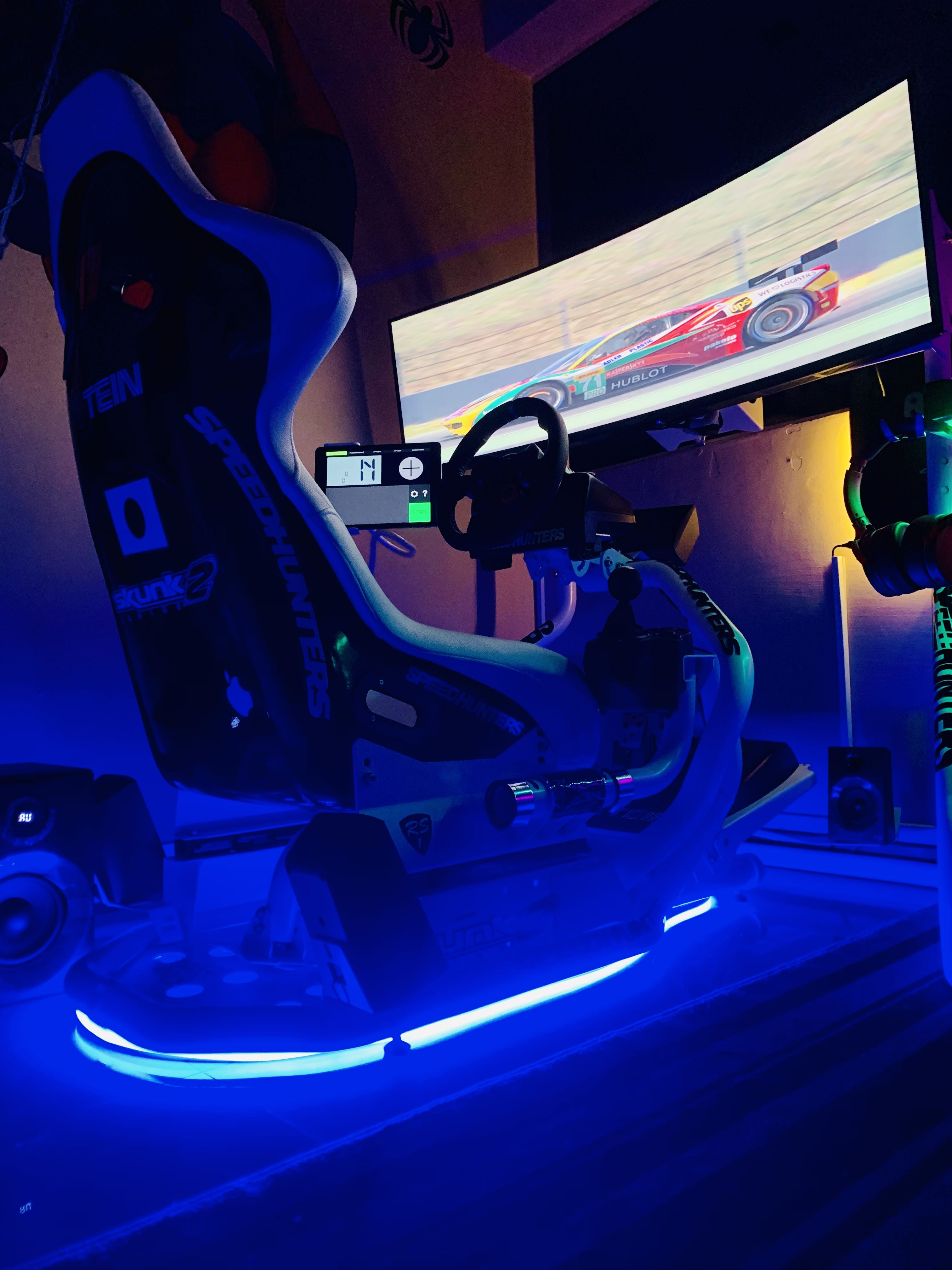 Rseat RS1 Racing simulator, Sims, Cockpit