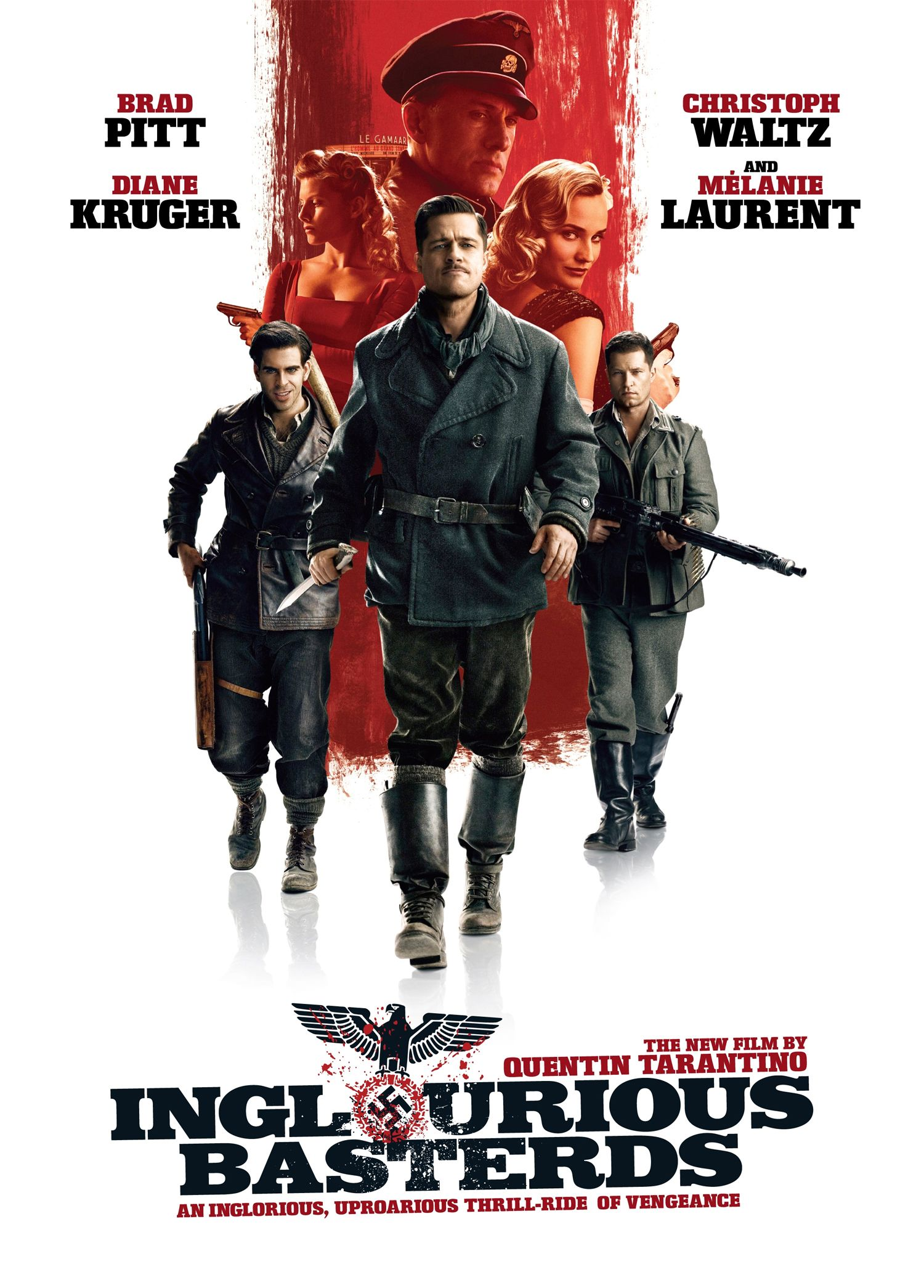 Image result for inglourious basterds movie poster