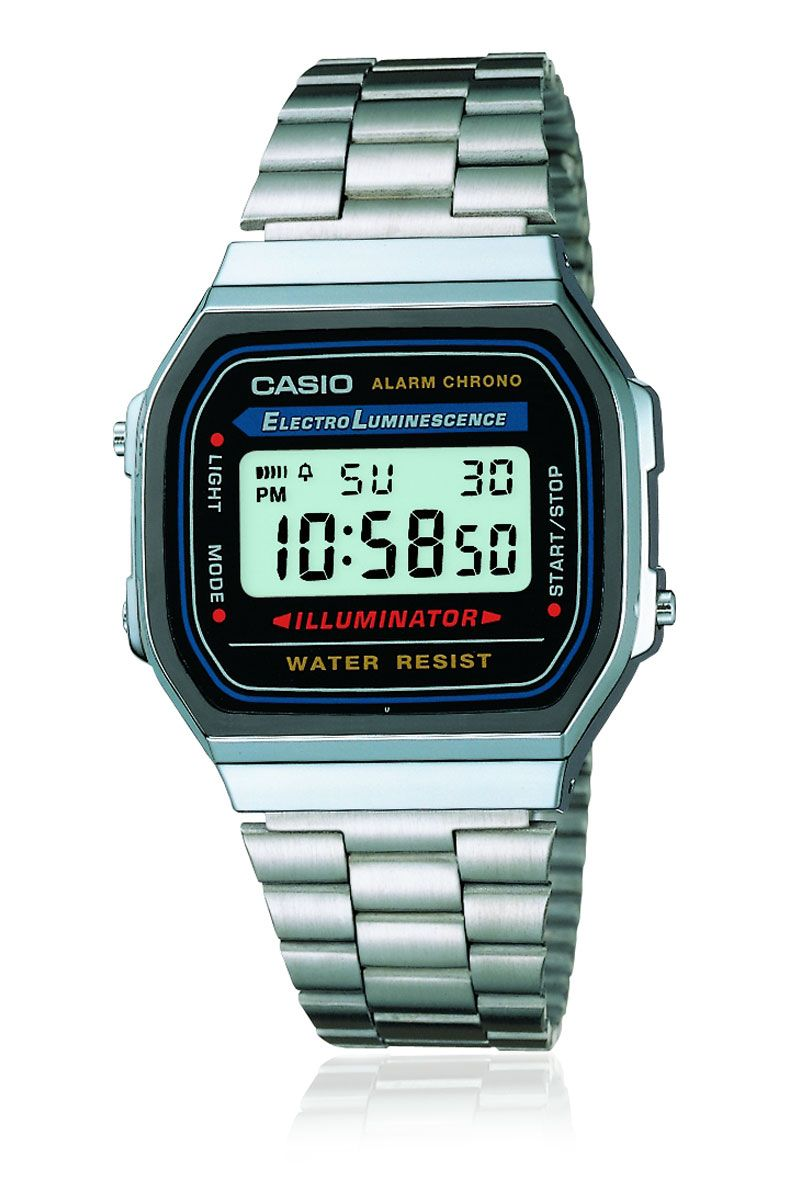 8e9a98ee33b Casio Vintage Metal Digital Watch Silver