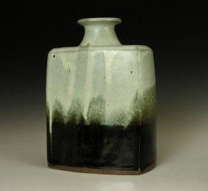 Press Moulded Bottle by Shinsaku Hamada.
