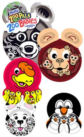 Zoo Pals Plates For Rachelle At Christmas Or Birthday Gift