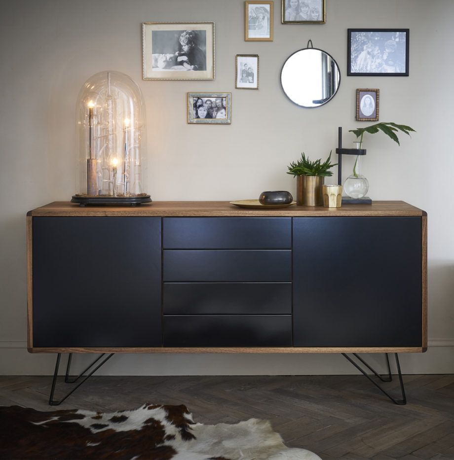 Buffet Salon Noir Victor Buffet En Noyer In 2019 Interior Design Decor