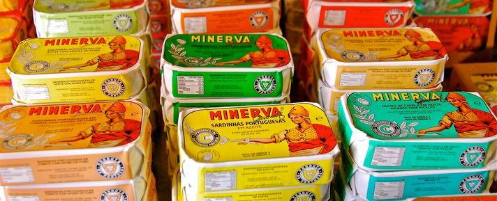 Porto - Canned Sardinhas Minerva