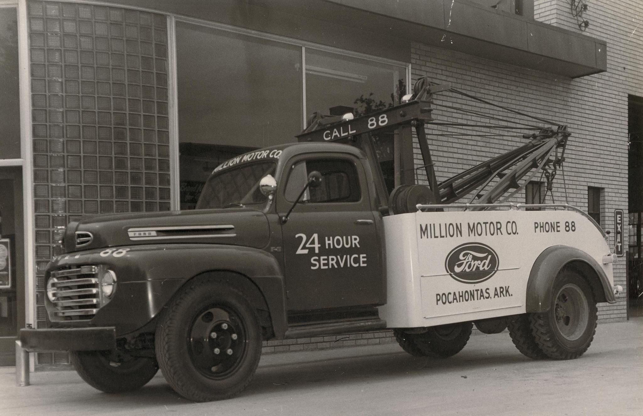 1948 50 Ford F 6 Wrecker With Holmes Bed Pocahontas Ar Tow