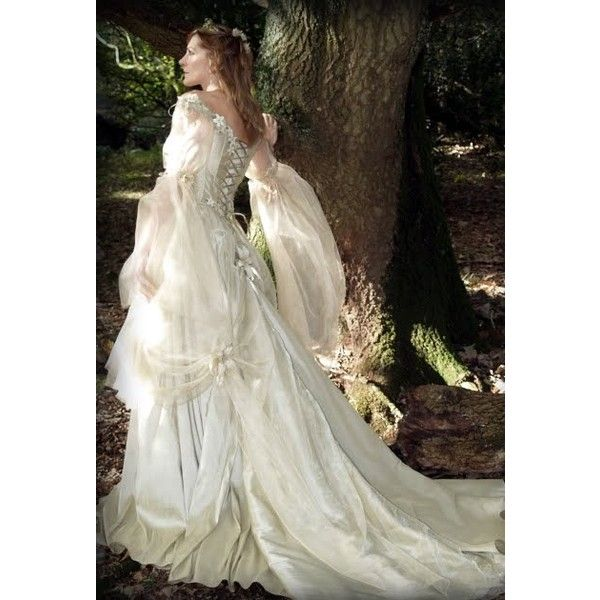 Steampunk Wedding Gowns: Gothic Fairy Dresses For Medieval Fairy Tale Wedding