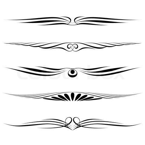 Elegant Borders Clip Art Stock Image Of Decorative Elements