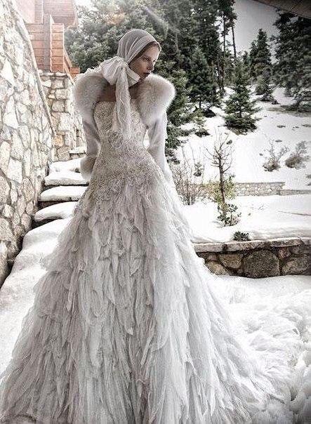Very russian winter | Style | Pinterest | Brautkleider