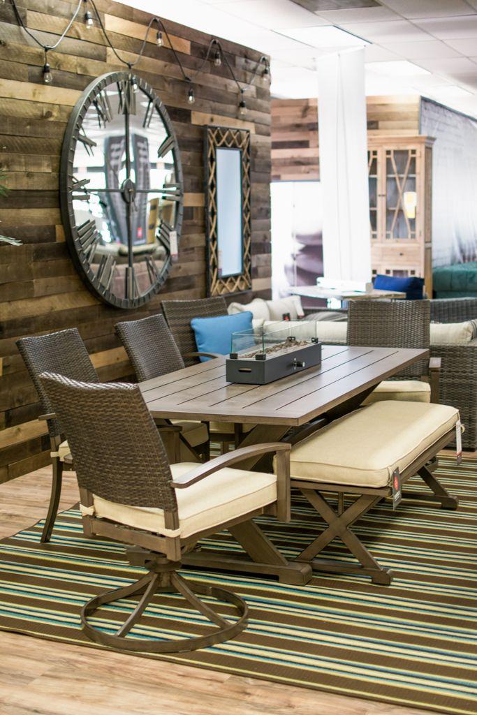 Peachstone Table 4 Chairs 2 Swivel Furniture Near Tempe Az