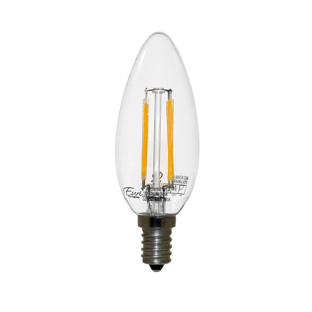Candelabra Led Filament Bulbs Energy Efficient Long Lasting Eurilighting Led Lightbulb Led Candelabra Bulbs Bulb Led Bulb