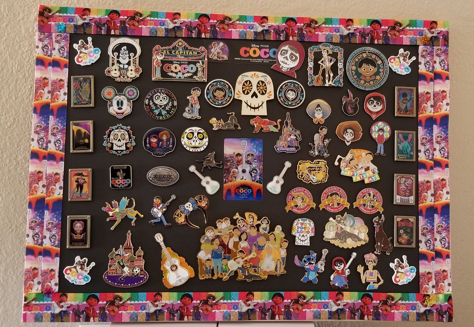 Disney Coco Display Pin Board 23 x 17 (Not included the ...
