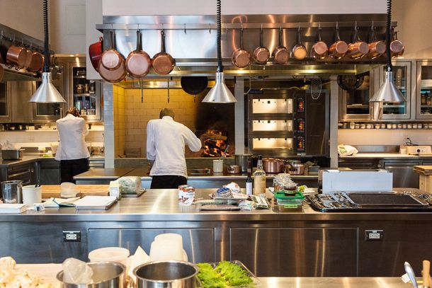 Dream Kitchen-Saison Restaurant in San Francisco | INTERIORS | Pinterest