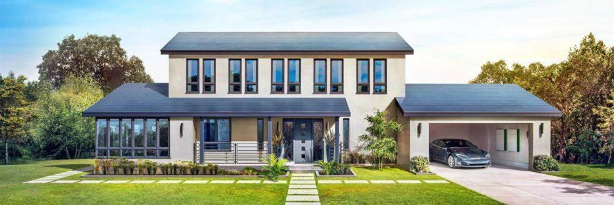 Tesla's new Solar Roof the company just announced