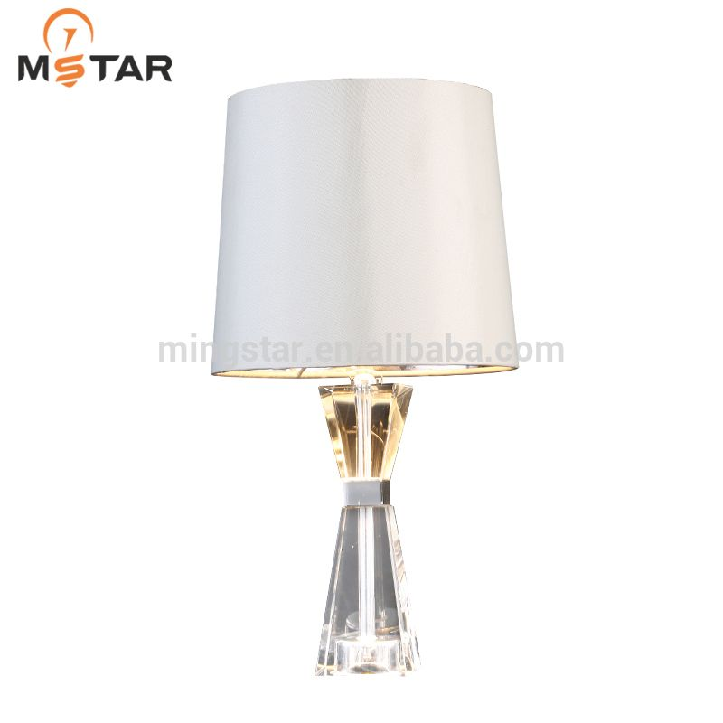 Crystal Table Lamps Round Lamp Shade, Round Lamp Shades Table Lamps