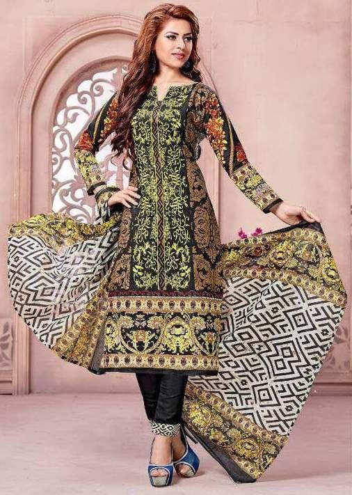 72304c14cc Karachi Cotton Noor Vol-02 Cotton Dress material ( 10 pc catalog ...