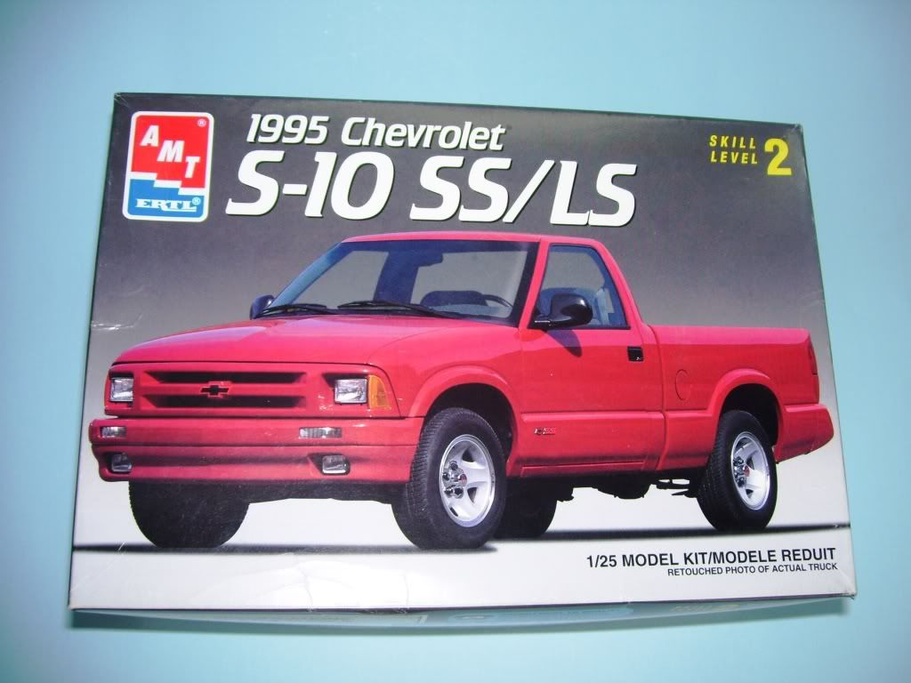 Plastic Model Kit Amt 95 S10 Google Search Model Kit Box Art