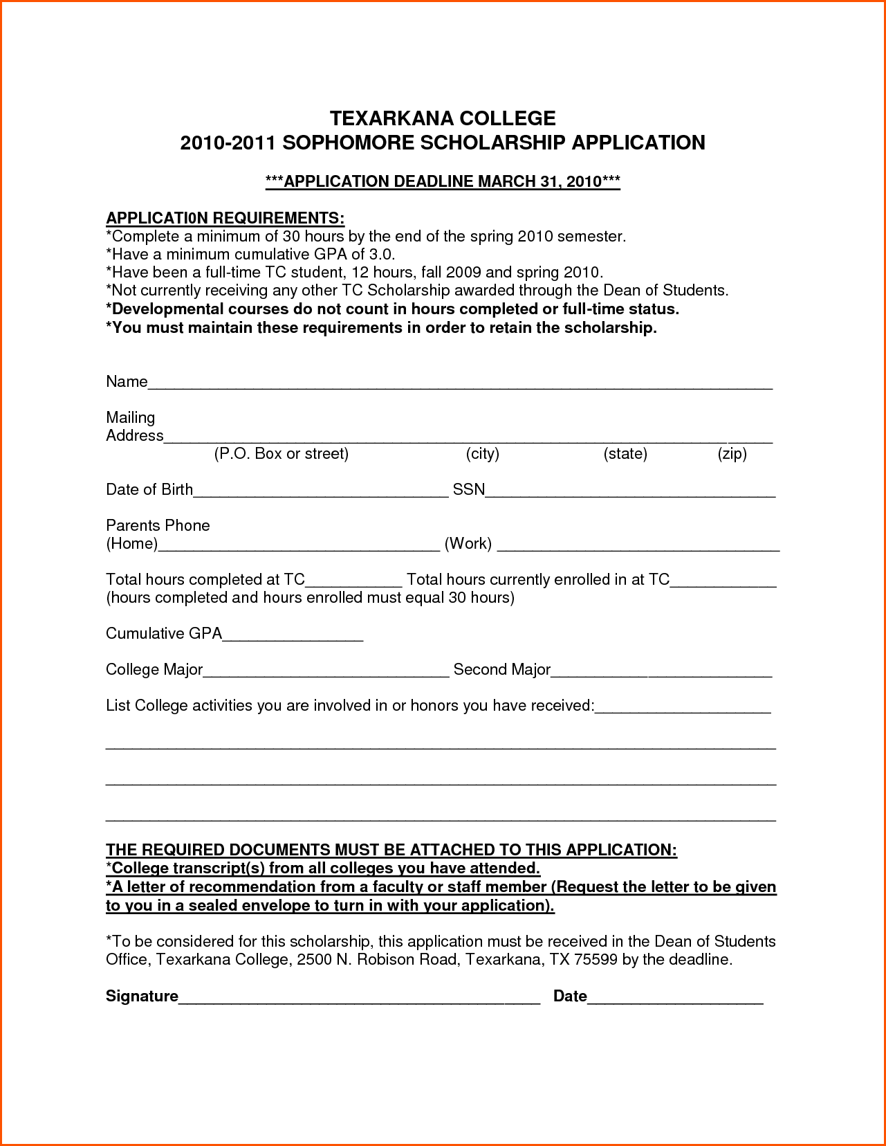 College Scholarship Application How Essay Letter Samples Free Amp