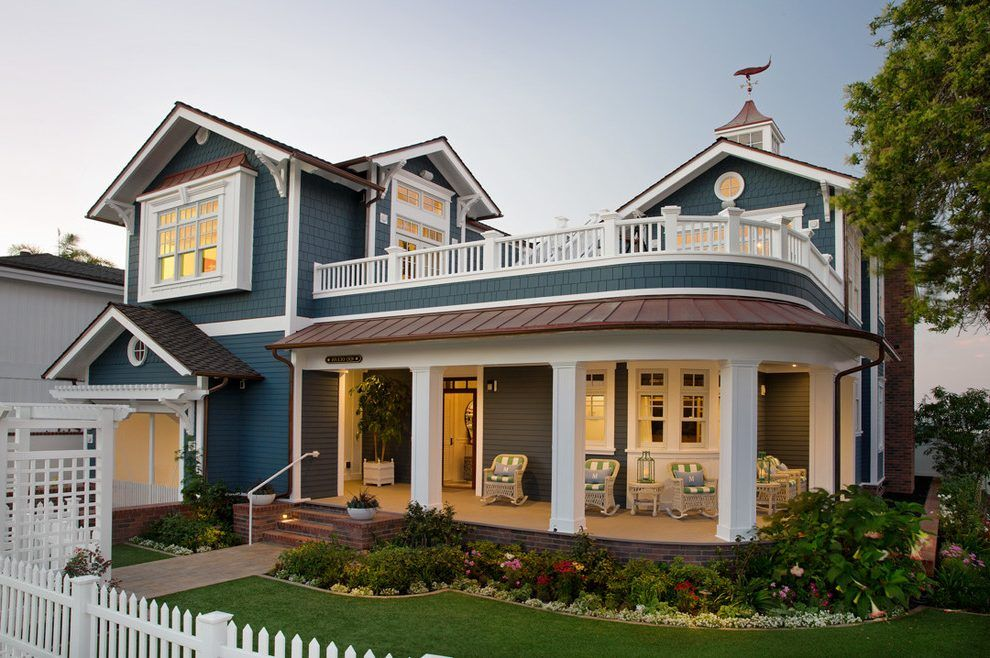 Best Pacific Blue Siding Exterior Beach Style With Oceanfront 400 x 300