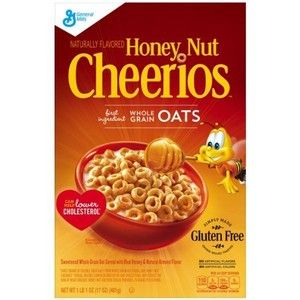 Cheerios cereal is one of my favorite breakfasts.