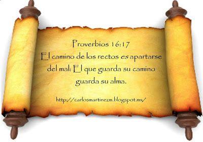 Carlos Martínez M_Aprendiendo la Sana Doctrina: Proverbios 16:17