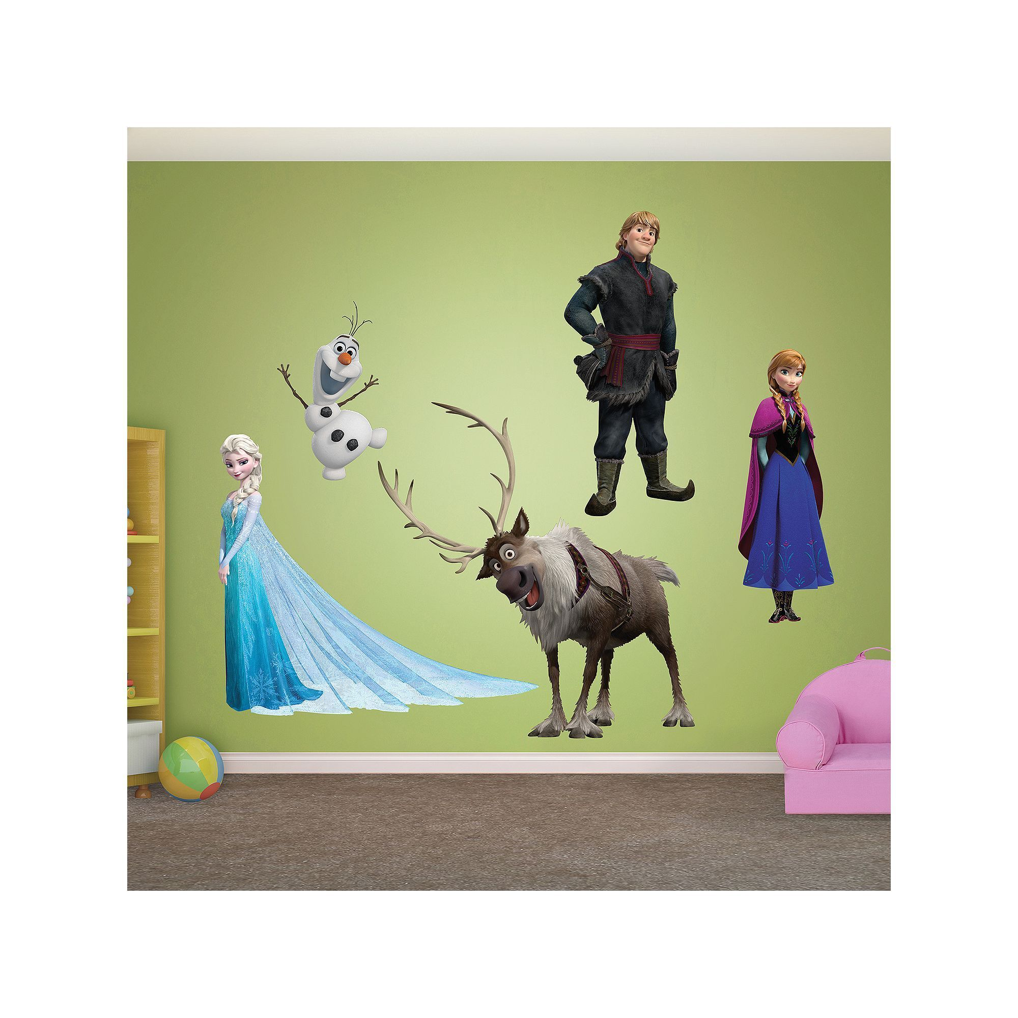 Disney Frozen Character Wall Decals by Fathead, Multicolor | Disney ...